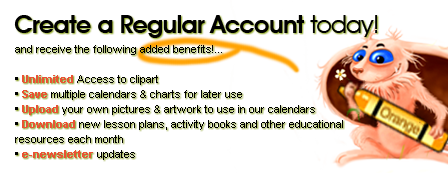 Create a Regular Account today!