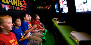 Indoor screens come complete with satellite hookup to accommodate the latest games for Xbox, Playstation3 and Wii.