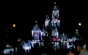 Brilliant fireworks, beautiful music, and a snow fall surrounded by white lights all combine in the Disney fireworks display to bring the holidays home!