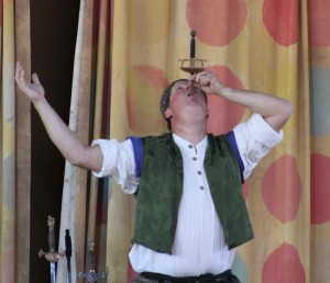Meet Tom Selectomy! He is a crazy, sword swallowing daredevil!